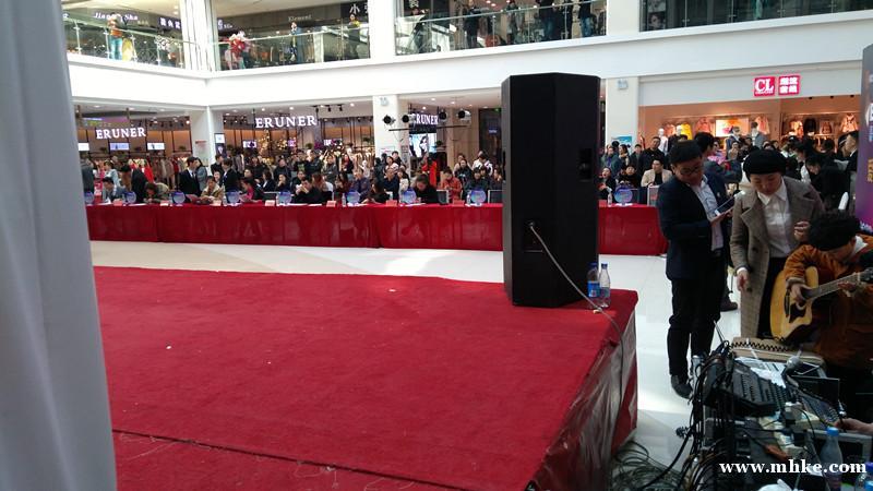梅河口首次招聘互动节目在维港城举办
